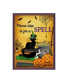 """Jean Plout 'A Spell' Canvas Art - 24"""" x 18"""" x 2"""""""