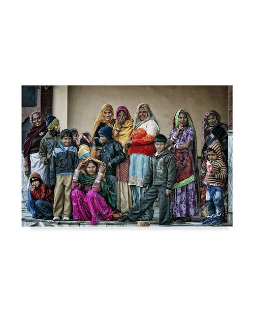 """Trademark Global Piet Flour 'The Colors Of Life' Canvas Art - 24"""" x 2"""" x 16"""""""