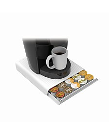 Mind Reader 30 Capacity K-Cup Single Serve Coffee Pod Storage Organizer Drawer