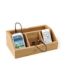 Mind Reader 3 Component Charging Station and Desk Organizer
