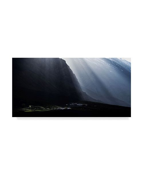 "Trademark Innovations Nitin Das 'The Dreamland' Canvas Art - 32"" x 2"" x 16"""