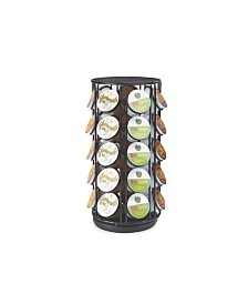 Mind Reader 35 Capacity Rotating Metal K-Cup Carousel Pod Holder