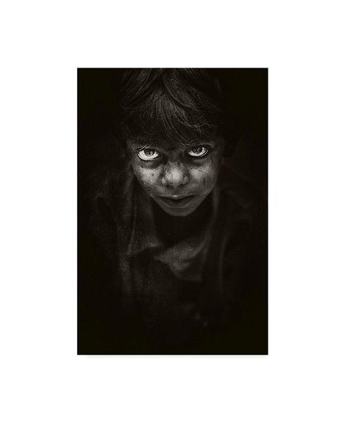 "Trademark Global Naseem Ali 'Angry Face' Canvas Art - 22"" x 2"" x 32"""