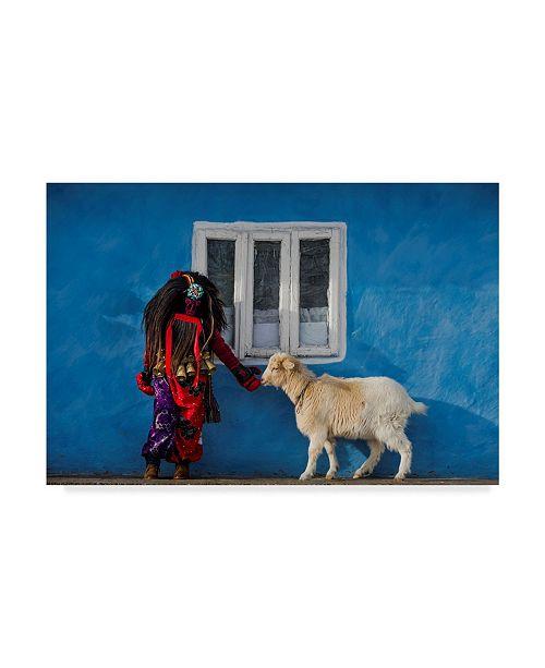 "Trademark Global Mihnea Turcu 'Intersections' Canvas Art - 47"" x 2"" x 30"""