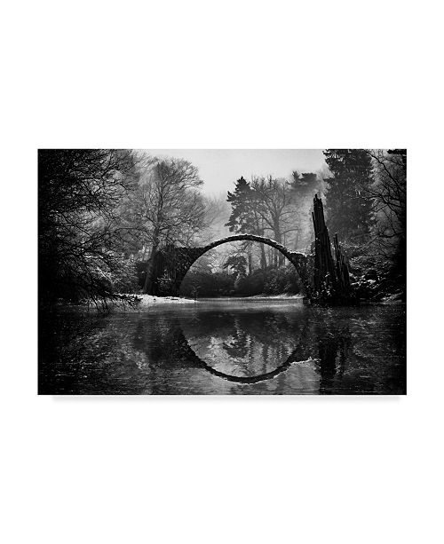 "Trademark Global Mike Kreiten 'Devils Bridge Arch' Canvas Art - 19"" x 2"" x 12"""