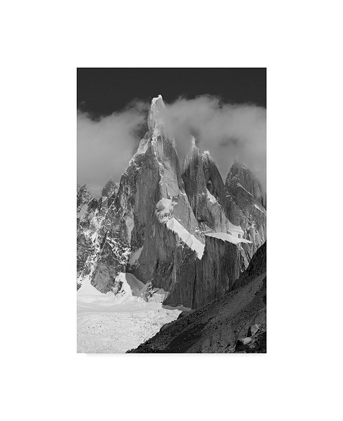 "Trademark Innovations Octavian Radu Topai 'Cerro Torre' Canvas Art - 22"" x 2"" x 32"""