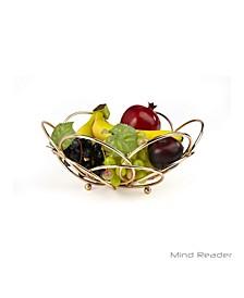 Modern Rose Gold Fruit and Vegetable Bowl