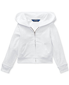 Polo Ralph Lauren Toddler Girls Terry Hoodie