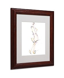 "Jennifer Lilya 'Purse Your Hips' Matted Framed Art - 11"" x 14"" x 0.5"""