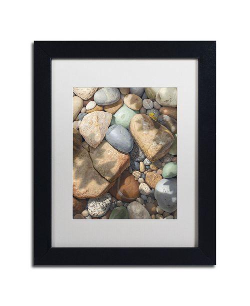 "Trademark Global Stephen Stavast 'Above the Shadows Break' Matted Framed Art - 11"" x 14"" x 0.5"""