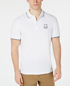 793f421761791 Michael Kors Men's Classic-Fit Stretch Piqué Logo Polo, Created For Macys. 3  colors