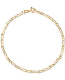bf85961f3 Italian Gold Figaro Link Chain Bracelet in 14k Gold