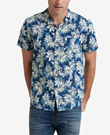 Lucky Brand Men's Woven Floral Shirt