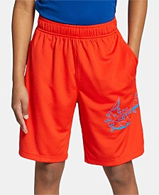 Nike Big Boys Logo-Graphic Training Shorts