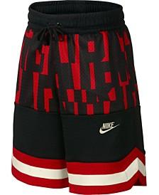 Nike Big Boys Nike Air Colorblocked Mesh Logo Shorts