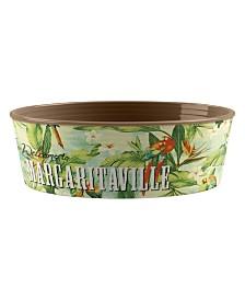 Tarhong Margaritaville® Hawaiian Tropic Large Pet Bowl