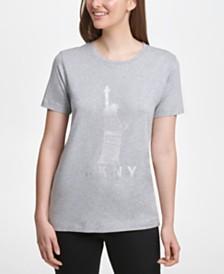 DKNY Graphic-Print T-Shirt
