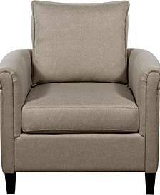 Jackson Rolled Arm Accent Chair