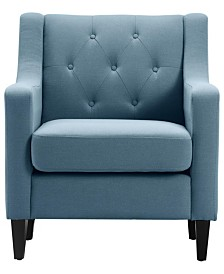 Serta Nina Tufted Accent Chair, Quick Ship