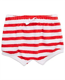 First Impressions Baby Girls Striped Bloomer Shorts, Created for Macy's