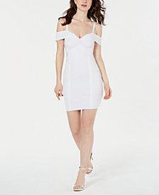 GUESS Mirage Cold-Shoulder Bandage Dress