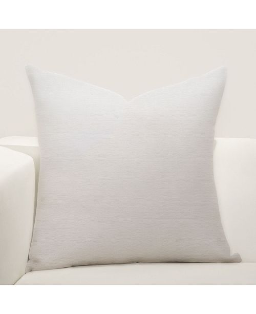 "Siscovers Silky Pearl 26"" Designer Euro Throw Pillow"