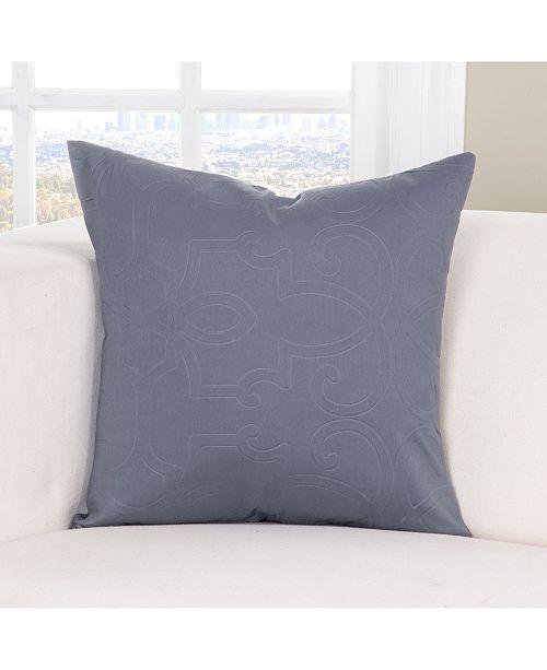 "PoloGear Gateway Denim 20"" Designer Throw Pillow"