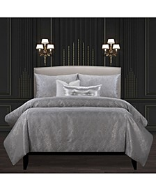 Jazz Club Silver Luxury Bedding Set