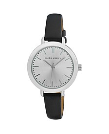 Ladies' Signature Case Analog Display Black Watch