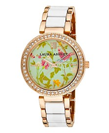 Ladies' White Summer Duck Egg Dial Watch
