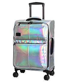 """Spellbound 22"""" Holographic Expandable Carry-On Spinner Suitcase"""