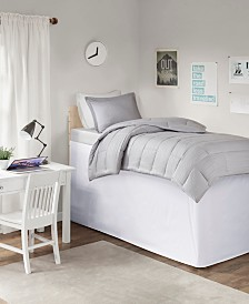 "Intelligent Design Extended Twin Drop 36"" Dorm Bedskirt"