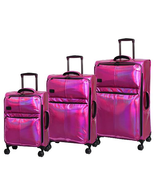 it Girl Spellbound Holographic Softside Luggage Collection