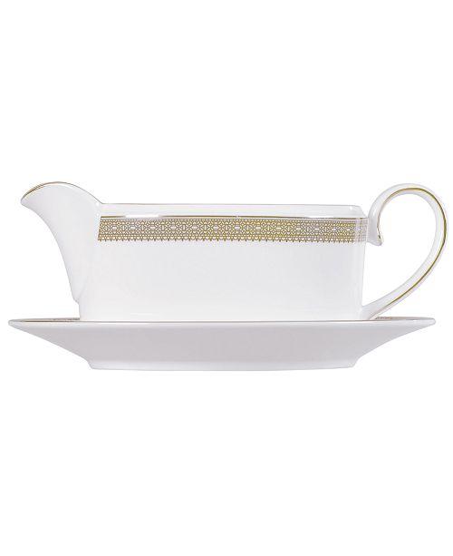 Vera Wang Wedgwood Dinnerware, Lace Gold Gravy Boat