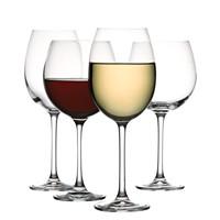 The Cellar Premium Glassware, Red & White Wine Glasses Set of 8 Deals