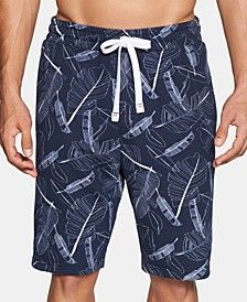 Modern Essentials Men's Printed Pajama Shorts