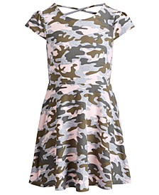 Little Girls Camouflage-Print Dress, Created for Macy's