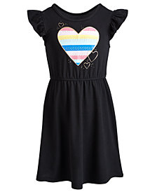 Epic Threads Toddler Girls Hearts Dress, Created for Macy's