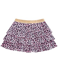 Epic Threads Little Girls Cheetah-Print Tiered Skirt, Created for Macy's