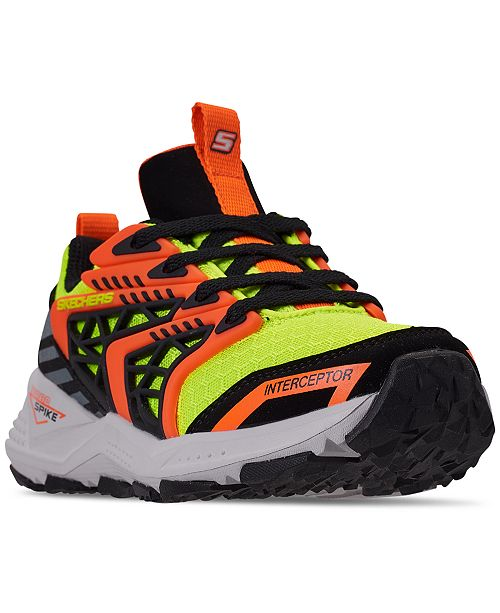 Skechers Little Boys' Turbo Spike - Astrozone Athletic Training Sneakers from Finish Line