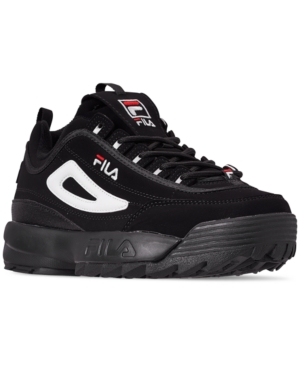 Fila MEN'S DISRUPTOR II CASUAL ATHLETIC SNEAKERS FROM FINISH LINE