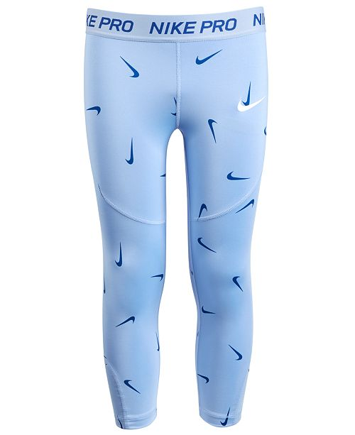 e7cd7f9a2 Nike Big Girls Pro Printed Capris & Reviews - Leggings & Pants ...