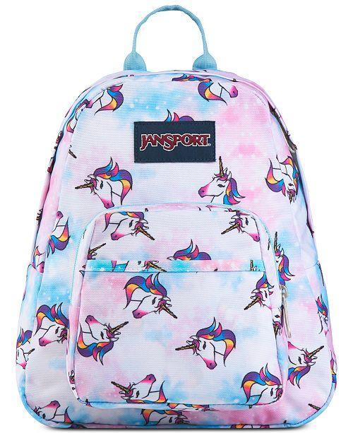 Unicorn Printed Half Pint Backpack