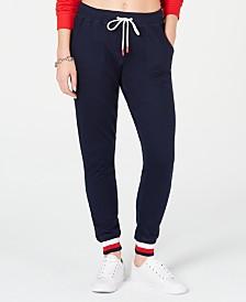 Tommy Hilfiger Signature Rib Jogger Pajama Pants R65S040