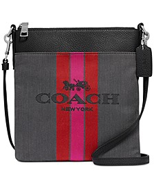 Horse And Carriage Jacquard Kitt Crossbody