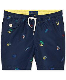Polo Ralph Lauren Toddler Boys Printed Swim Trunks