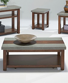 Cascade Castered Cocktail Table
