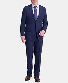 Men's Active Series Classic-Fit Stretch Moisture-Wicking Herringbone Suit Separates