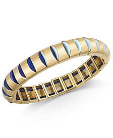 Kate Spade New York  Gold-Tone Stretch Bracelet