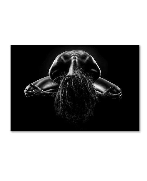 "Trademark Global Jackson Carvalho 'Bodies' Canvas Art - 24"" x 16"" x 2"""